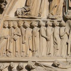 Last Judgment Portal (c.1230): The Redeemed