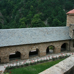 Cloister from Above