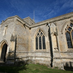 View of South Porch and Nave from Southeast