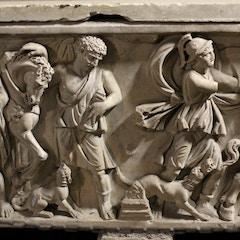 Roman Sarcophagus Detail