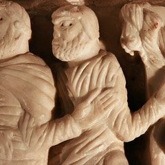 Sarcophagus of St. Sernin: Arrest of St. Sernin