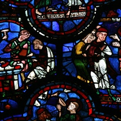 St. John Window: The Philosopher and the Gems
