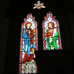 Window Partially Blocked by Sedilia on South Side of Chancel