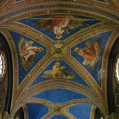 Starry Blue Vault of Nave