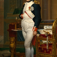 Emperor Napoleon in His Study