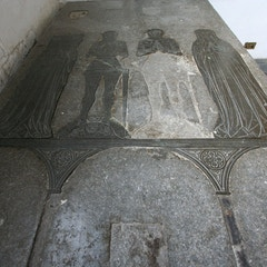 Brass Memorial in South Transept