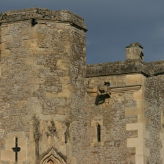 Detail of Turret Next to South Porch