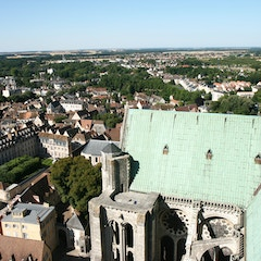 North Transept from Tower