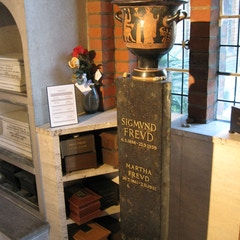 Urn of Sigmund and Martha Freud
