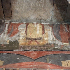 Fresco: Legs of Saints