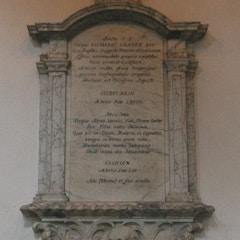Wall-Tablet Memorial