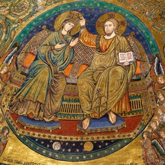 Apse Mosaic: Coronation of the Virgin