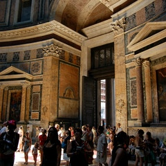Pantheon Interior and Entrance