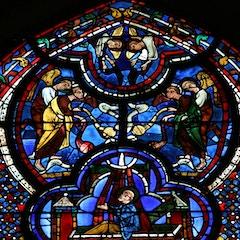 St. John Window: Angels at John's Death