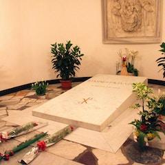 Tomb of Pope John Paul II (d.2005)