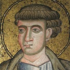 Crypt Mosaic: Portrait of a Saint