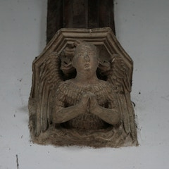 Stone Angel Below Nave Roof