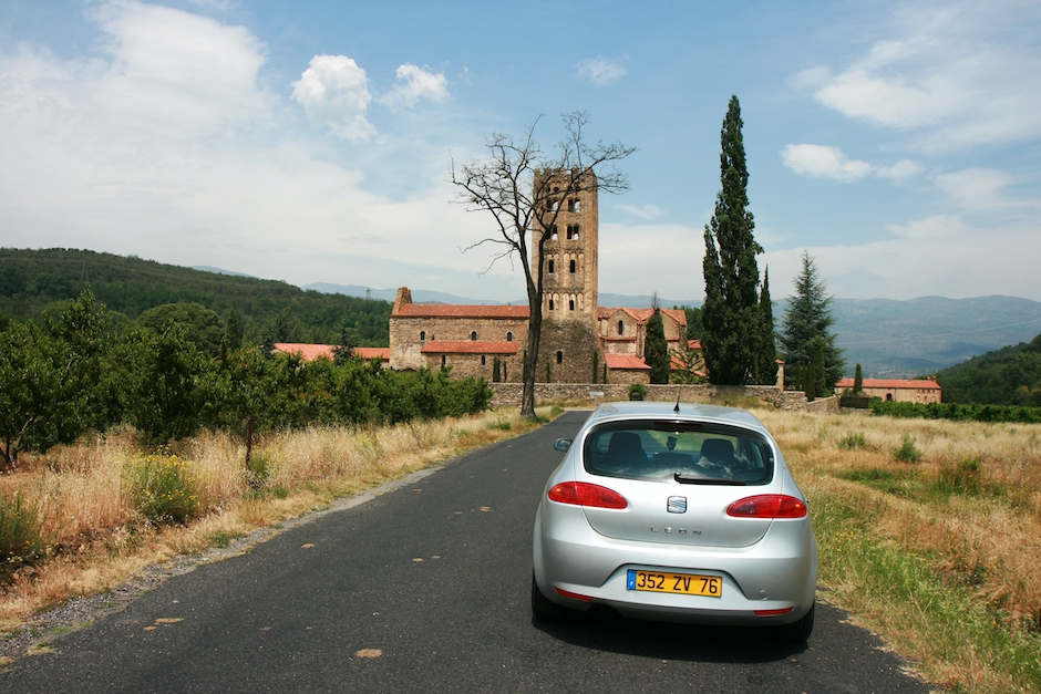 View with Car