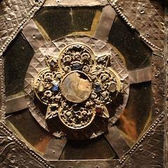 Pentagonal Reliquary (Detail)