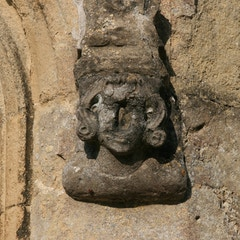 Only Mostly-Intact Face Adorning Exterior