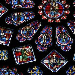 North Rose Window (1230)