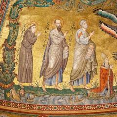 Apse Mosaic: Saints