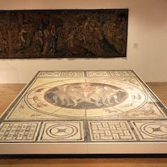 Sun God and Zodiac Mosaic (3rd cent.)