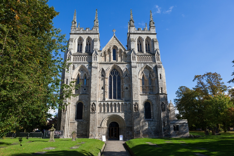 Selby Abbey: West Facade