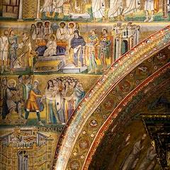 Triumphal Arch Mosaic (c. 435): Left Side