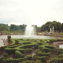 Blenheim Palace - Fountain - 1993