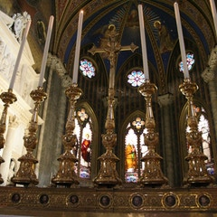 Candles of High Altar