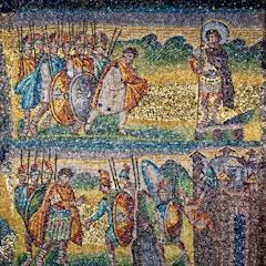 Nave Mosaic (c. 435): Joshua