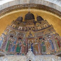 Facade Mosaic: Translation of St. Mark