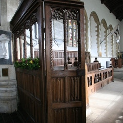 Chancel Screen of Early 16th Century