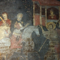 Fresco: Legend of St. Alexis (11C)