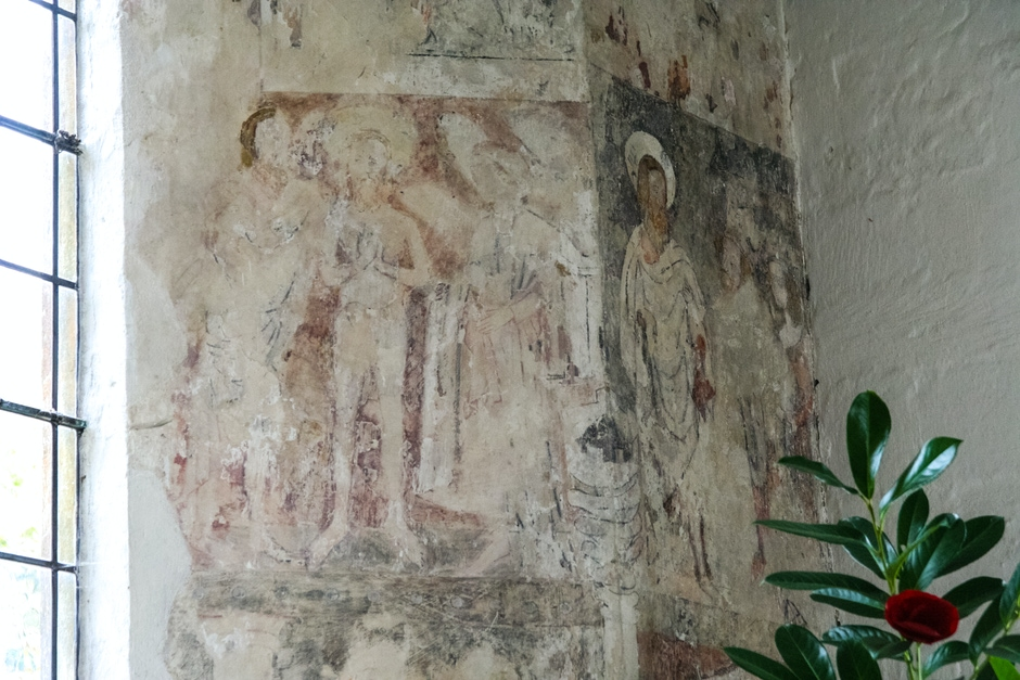 Mural: Baptism of Christ