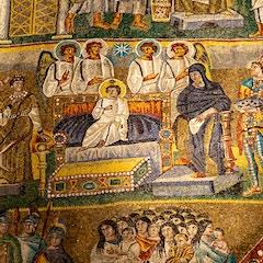 Triumphal Arch Mosaic (c. 435): Epiphany