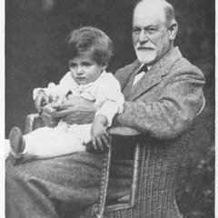 Sigmund Freud with a Boy