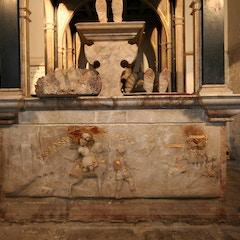 Alabaster Dormer Monument