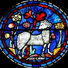 Zodiac Window (c.1220): Aries (Isolated)