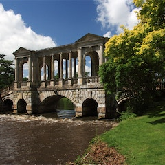 Wilton House the Palladian Bridge