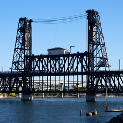 Steel Bridge from SW