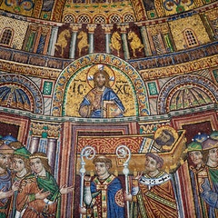 Facade Mosaic: Translation of St. Mark's Relics