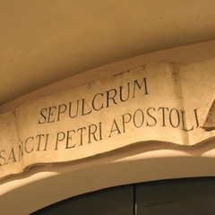 Sepulchre of St. Peter the Apostle