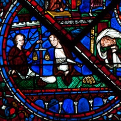 Joseph Window 1: Bankers
