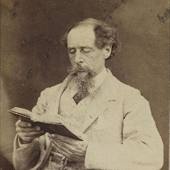 Charles Dickens Reading (1863)