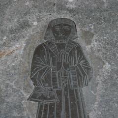 Brass Memorial in Chancel