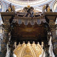 Bernini's Baldacchino (1624-33)