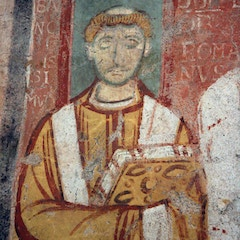 Fresco: Pope Leo IV