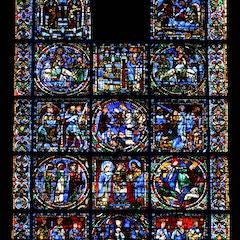 Life of Christ Window (c.1150)
